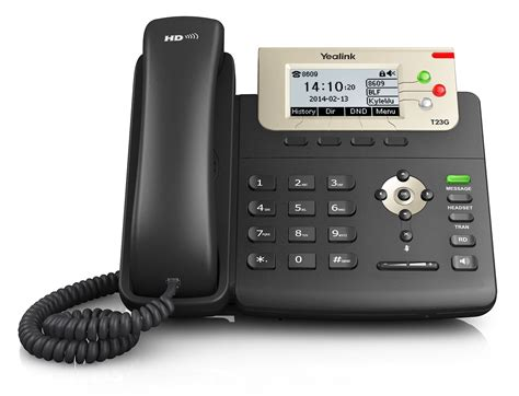 Voice Desk Phone by Yealink Sip T23g Ip Phone Hd Voice Gige Poe 3 Lines