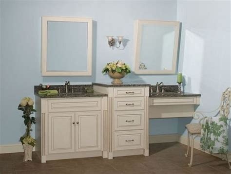 double vanity with makeup station 10 stunning gorgeous bathroom vanity with makeup