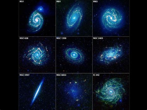 galaxies in the universe names pics about space