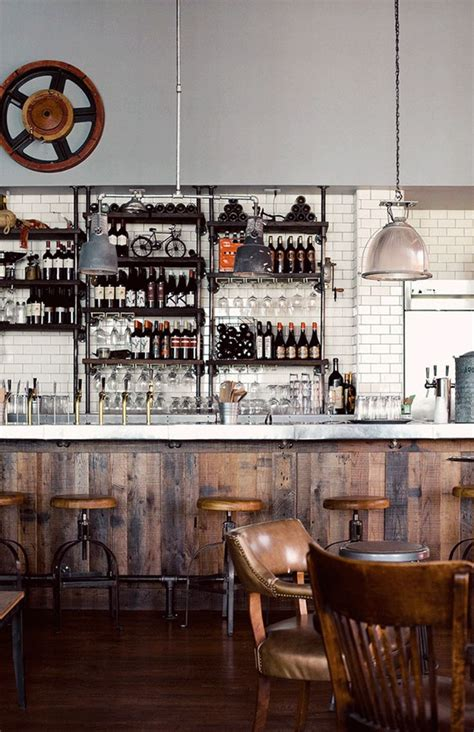 rustic industrial 4square designs 247 best images about restaurant design on