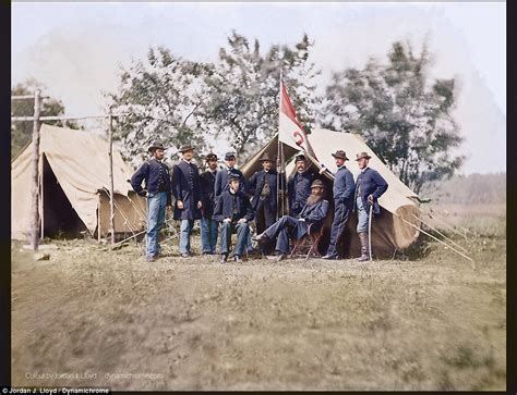 civil war pictures in color the civil war in living color history by the slice