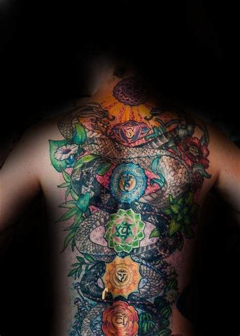 chakra back tattoo 40 chakras designs for spiritual ink ideas