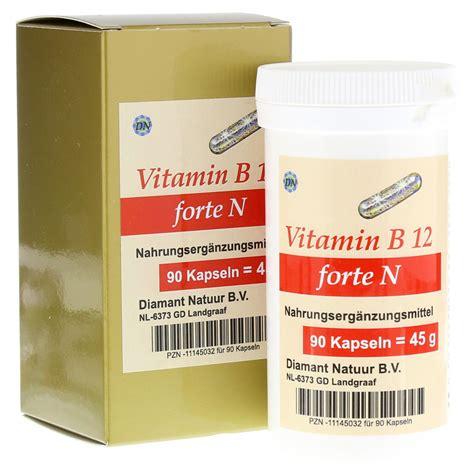 Vitamin N Vitamin B12 Forte N Kapseln 90 St 252 Ck Bestellen