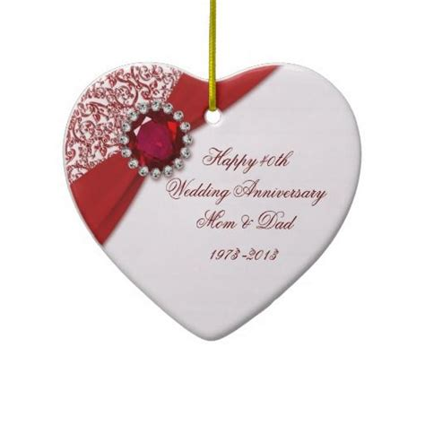 best 25 40th anniversary gifts ideas on 40th wedding anniversary gift ideas diy