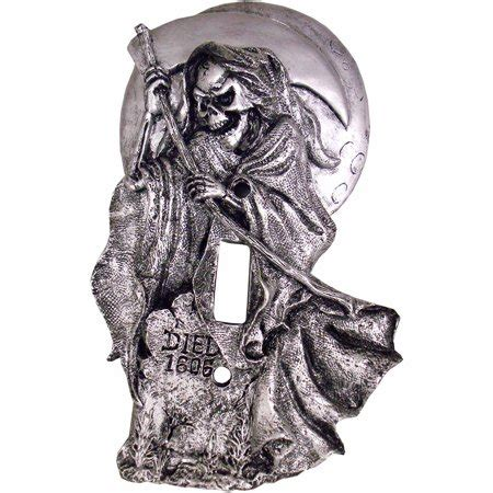 Switch Cover Decoration grim reaper light switch cover decoration