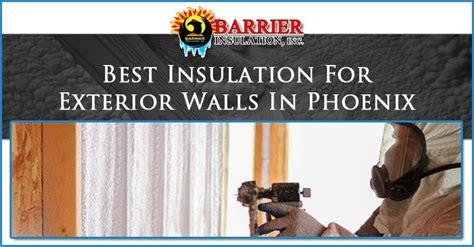 best insulation best insulation for exterior walls in barrier