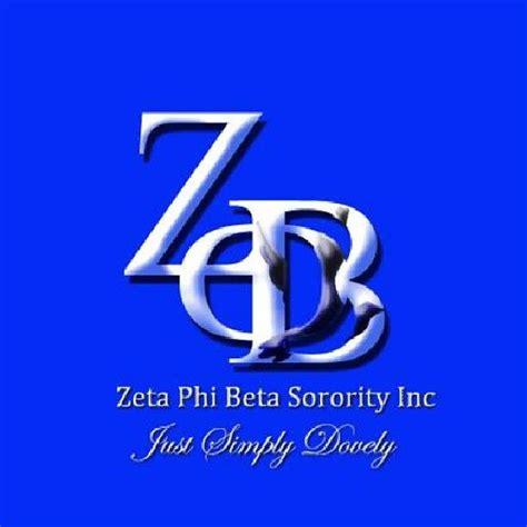 Pin Zeta Phi Beta Sorority on Pinterest