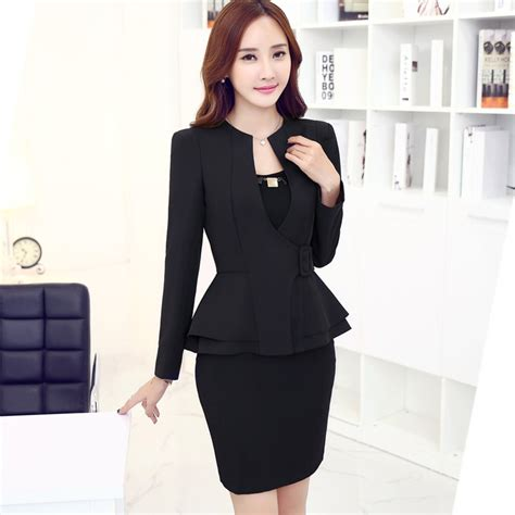 Set Blazer Shirt Skirt Dress womens suit sets dress yy