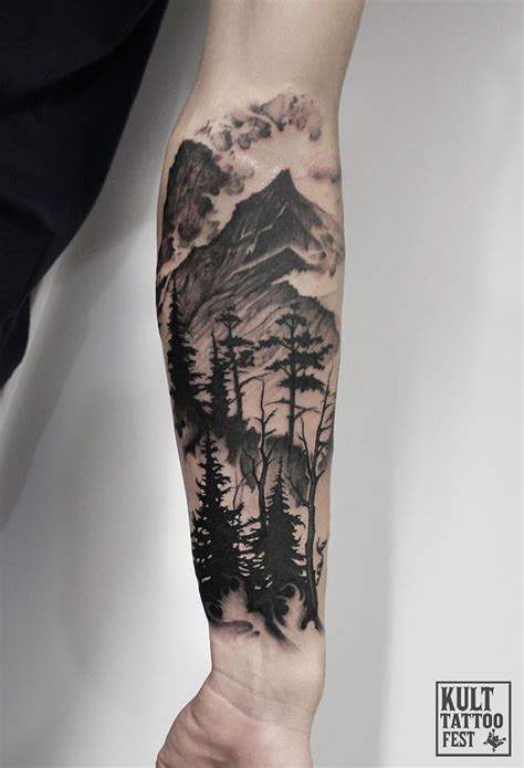 tree half sleeve tattoo designs image result for landscape sleeve tattoos tattoos