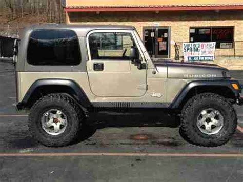 2004 Jeep Rubicon Mpg Buy Used 2004 Jeep Wrangler Rubicon Ready To Wheel In New