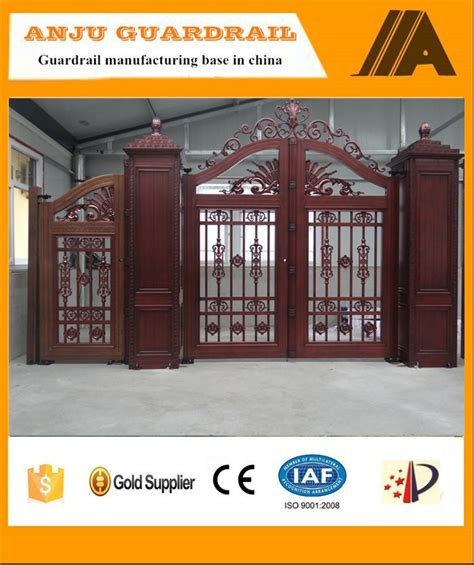 high quality new design house gate color ajly 610 buy house gate color different design of