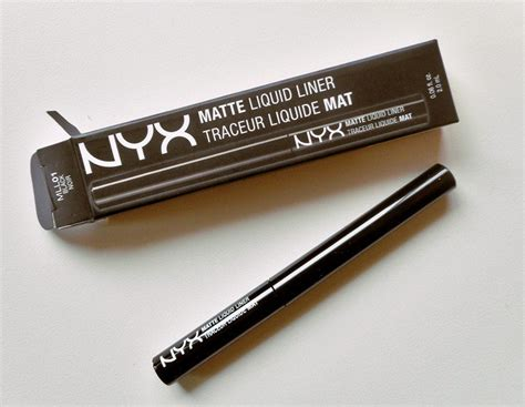Nyx Liquid Liner nyx matte liquid liner review and cosmetics