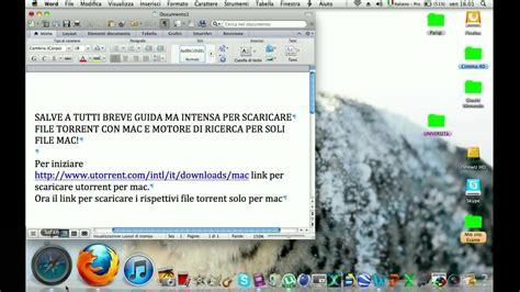 tutorial utorrent per mac tutorial scaricare utorrent e file torrent solo mac youtube