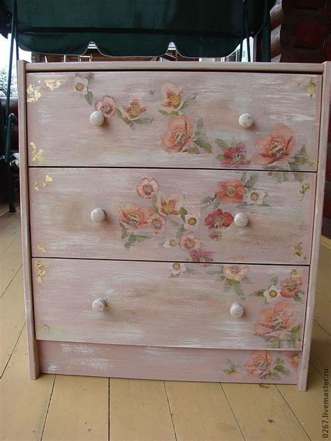 Furniture Decoupage Ideas -