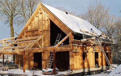 Habitation Sans Permis De Construire 3821 by Photo Maison Bioclimatique En Construction