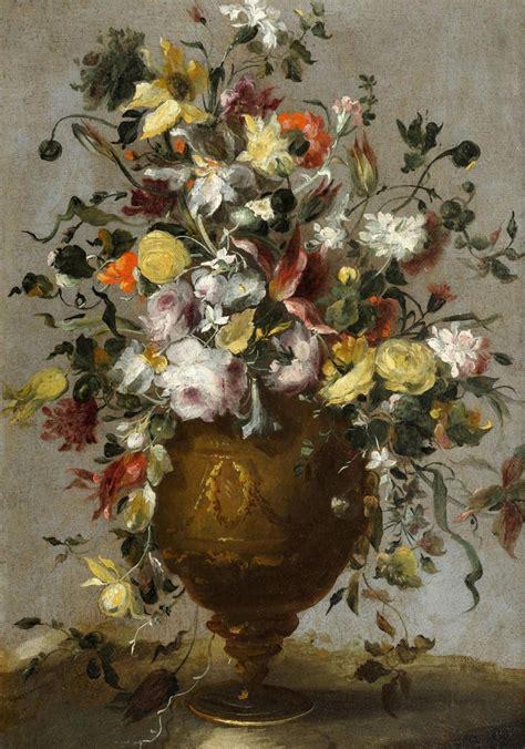 dipinti di fiori galleria giamblanco antiquariato torino dipinti antichi