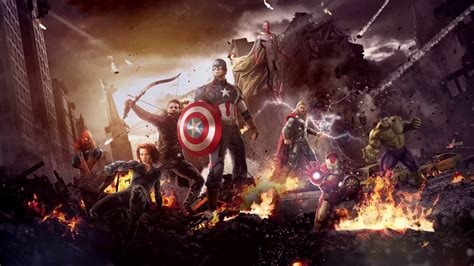 marvels  avengers  animated fire  wallpaper