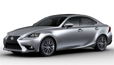 lexus car a visual comparison between the 2017 lexus is and its