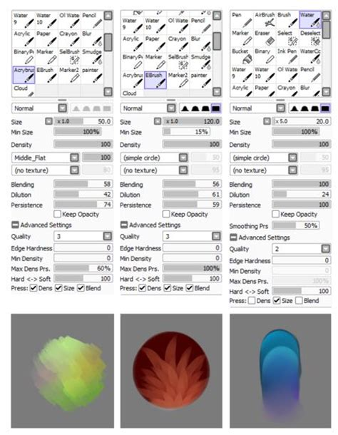 paint tool sai all tools 17 best images about paint tool sai brushes on