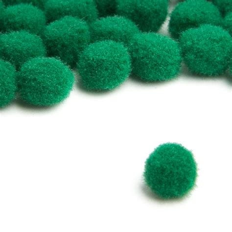 green craft tiny emerald green craft pom poms pom poms basic craft