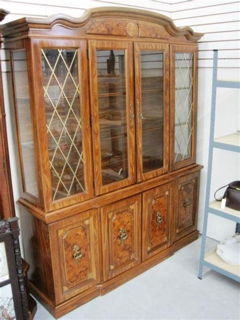 broyhill china cabinet vintage bar cabinet