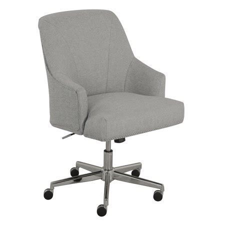 leighton home office chair light gray walmartcom
