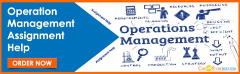 Subjects In Operations Management Mba by Operations Assignment Help Management Assignment Sles