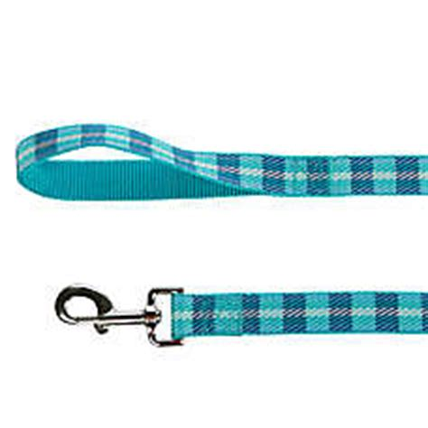 petsmart leash top paw 174 plaid leash leashes petsmart