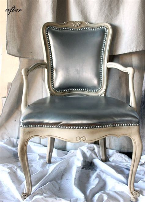 Spray Paint Leather Sofa 17 Best Images About 20s Furniture On Pinterest Turquoise Chair Furniture And Stencils