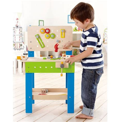 wooden work bench for kids master workbench wooden playset for kids educational toys planet