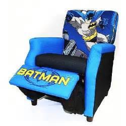 new batman recliner boys toddler blue