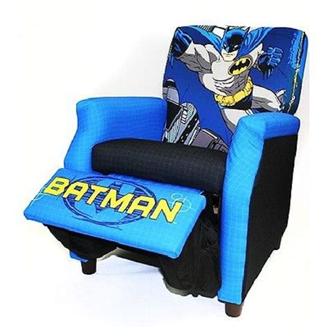 Chairs For Boys by New Batman Recliner Boys Toddler Blue