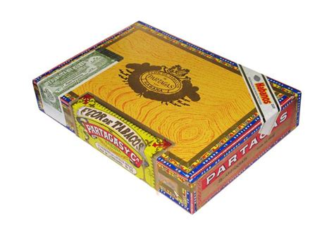 Partagas Aristocrats Box 25 Cerutu Kuba partagas aristocrats finest cuban cigars