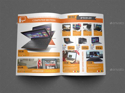 electronic brochure templates electronics products catalog brochure 12 pages by