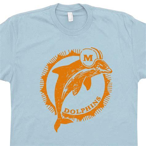 T Shirt Miami Dolphins Logo miami dolphins shirt vintage miami dolphins t shirt