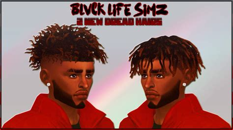 black male hair cc sims 4 blvck life simz sims 4 updates sims 4 finds sims 4