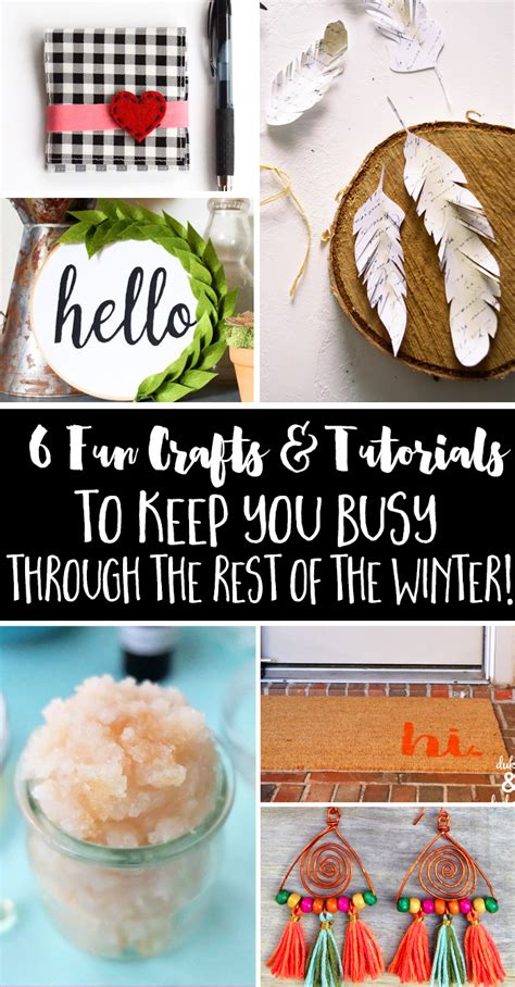 crafts to keep busy craft ideas inspiration monday refresh restyle