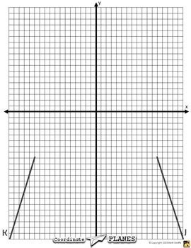 printable graph paper for linear equations coordinate planes paper airplanes from graphing linear