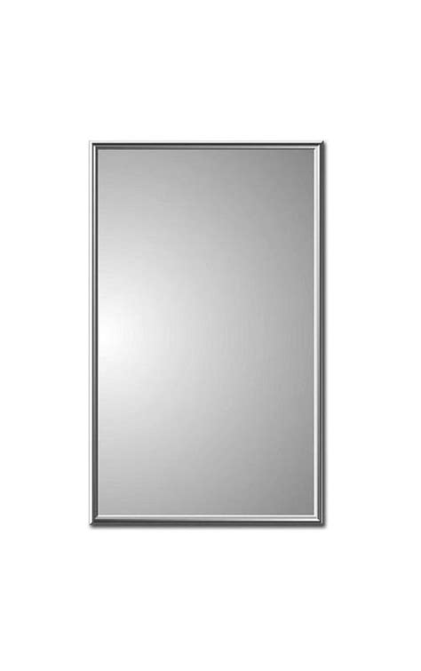 chrome framed medicine cabinet zaca 11 1 26 32 chrome regulus 16 quot x 26 quot recessed framed