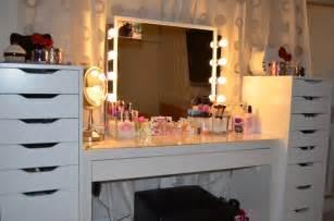 Ikea Vanity Setup Le Boudoir D Ines Comment Ranger Make Up Quand On