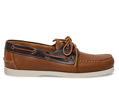 chaussure bateau tbs cognac cognac et bleu