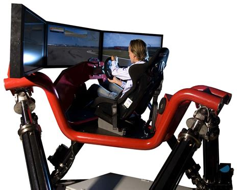 Racing Simulator Chair Hydraulic Cruden Hexatech F1 Simulator