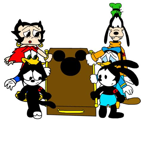 carrying mickey mouses coffin  marcospower