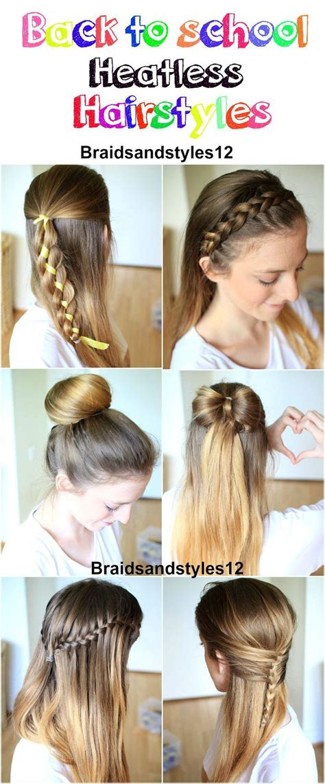 back to school hairstyles for relaxed hair braidsandstyles12 school hair style and girl hairstyles
