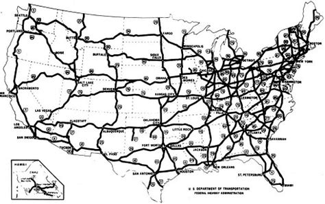 map us highways system nation s interstate highway system turns 60 asce news