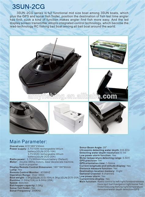 fishing bait boat with gps wholesale remote controlled bait boat buy bait boat gps