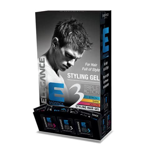 elegance plus styling gel covers white hair 100ml new ebay elegance triple action strong hold hair gel best hair gel