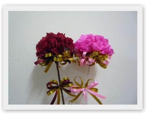tutorial buat buket bunga menjaring impian diy tutorial buat bunga tisu carnation