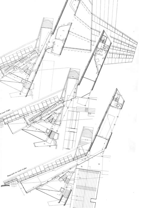 make architectural drawings maps the architectural plan as a map drawings by enric miralles the funambulist magazine