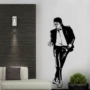Picture Frame Stickers For Wall michael jackson
